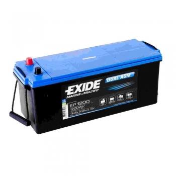 Batteries EXIDE Agm pour services et mise en service 100Ah 140Ah 240Ah